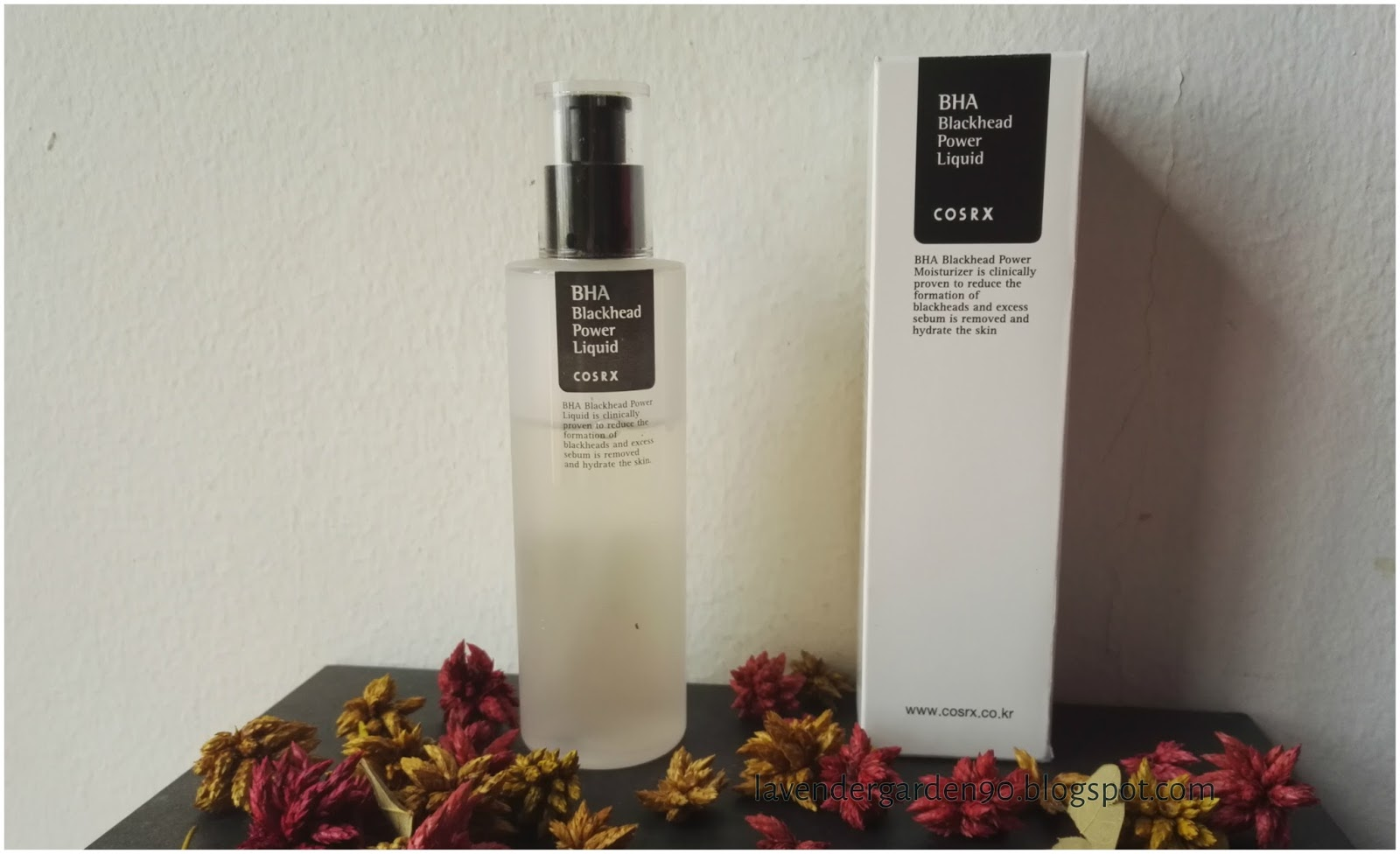 Carolyn 39 S Lavender Garden The First Chemical Exfoliants In My Life Review Cosrx Bha