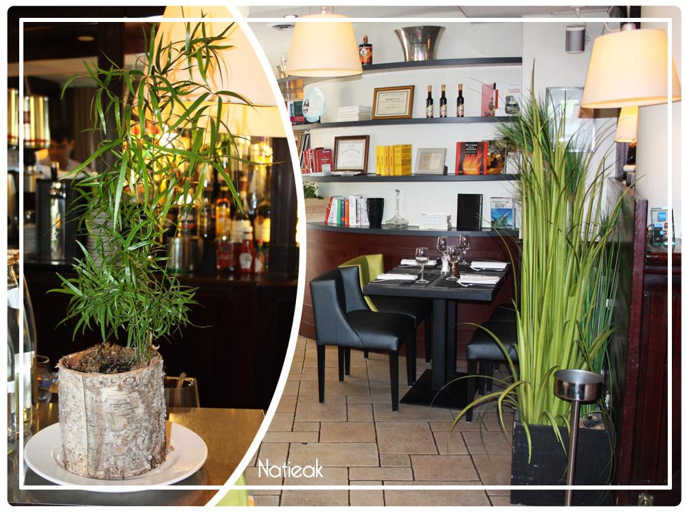 décoration du restaurant Millésimes 62