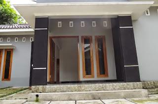 tiang teras minimalis batu alam