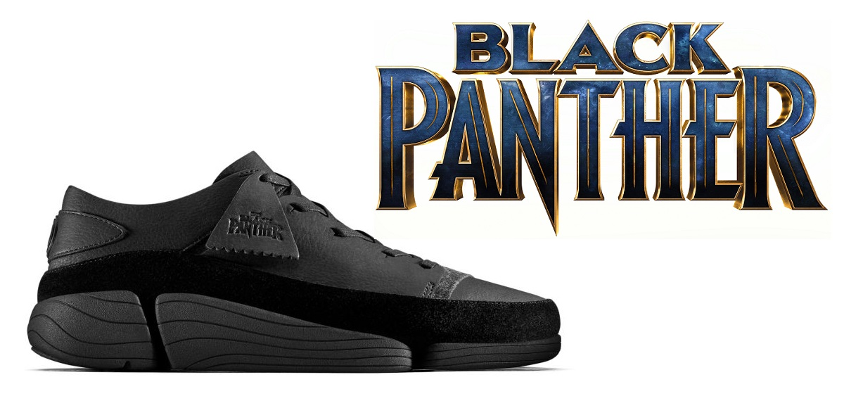 Black Panther Limited Edition Trigenic Evo Shoes by Clarks Originals x  Marvel