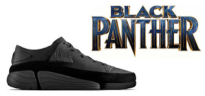 Limited Edition Black Panther Trigenic Evo Shoes by Clarks Originals x Marvel
