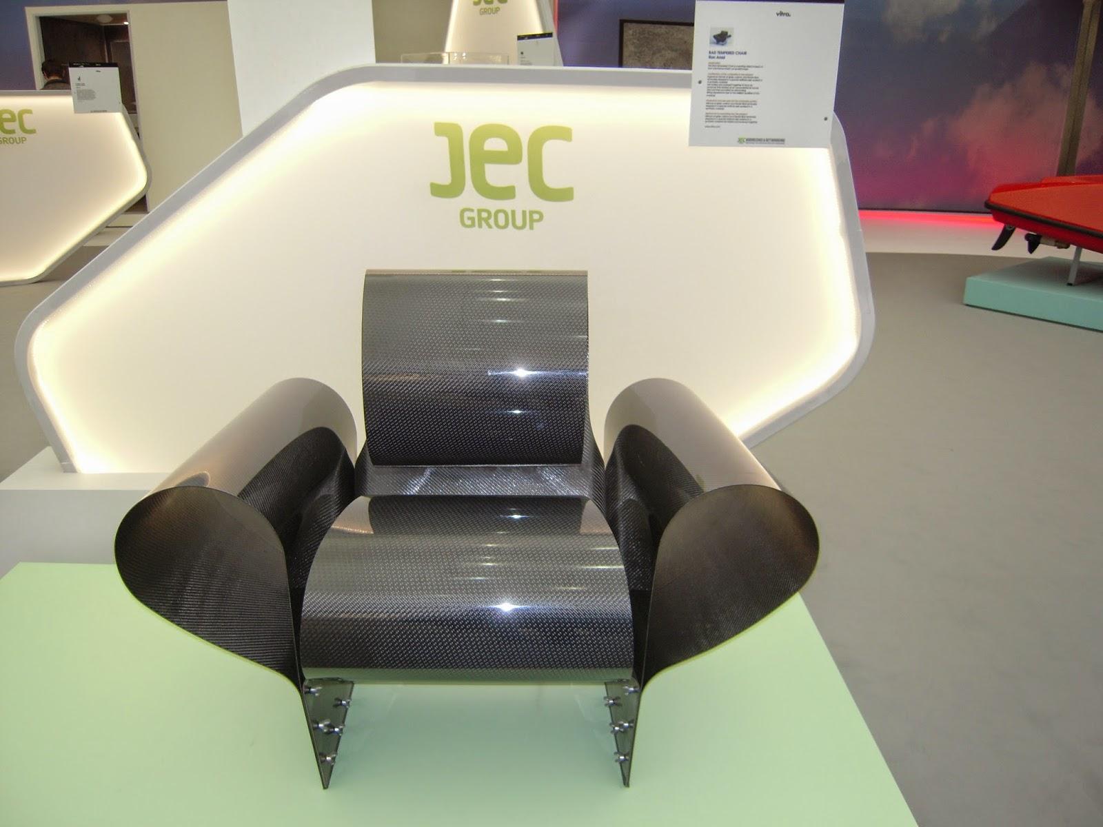 Vitra, JEC 2015, Composites for better living