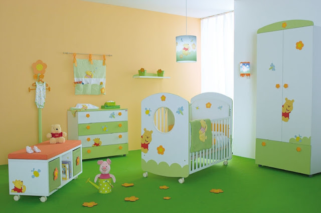 Baby Room Decor: Make a Cozy Room Baby Room Decor: Make a Cozy Room charming winnie the pooh themed baby nursery rooms with furniture set cool baby nursery room with winnie the pooh furniture set