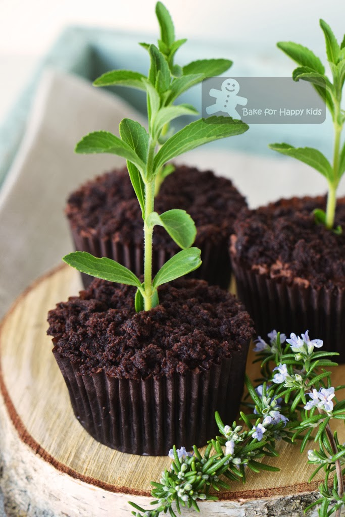 chocolate dirt cupcakes Paula Deen