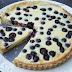 Mėlynių ir kreminio sūrio tarta | Blueberry Cream Cheese Tart