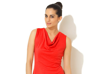 Cowl neck:- Draped neckline consequential from bias cut with surplus fabric forming spongy folds.  Suitable for small chest sized women. Bigger bust and short & wide neck should not go for it.