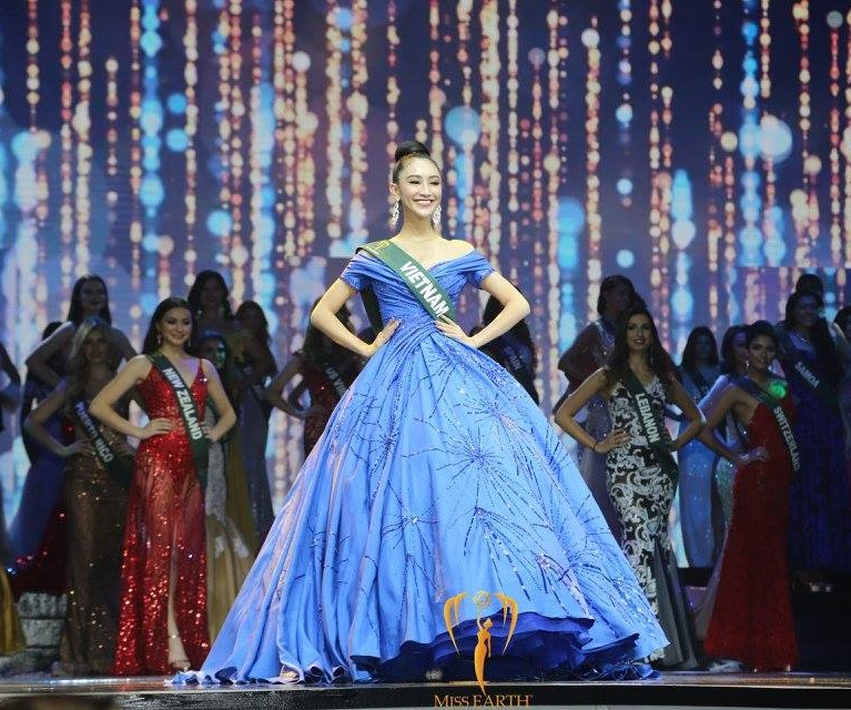 SASHES AND TIARAS.....Miss Earth 2017 Finals: Winner, GOWN RECAP ...