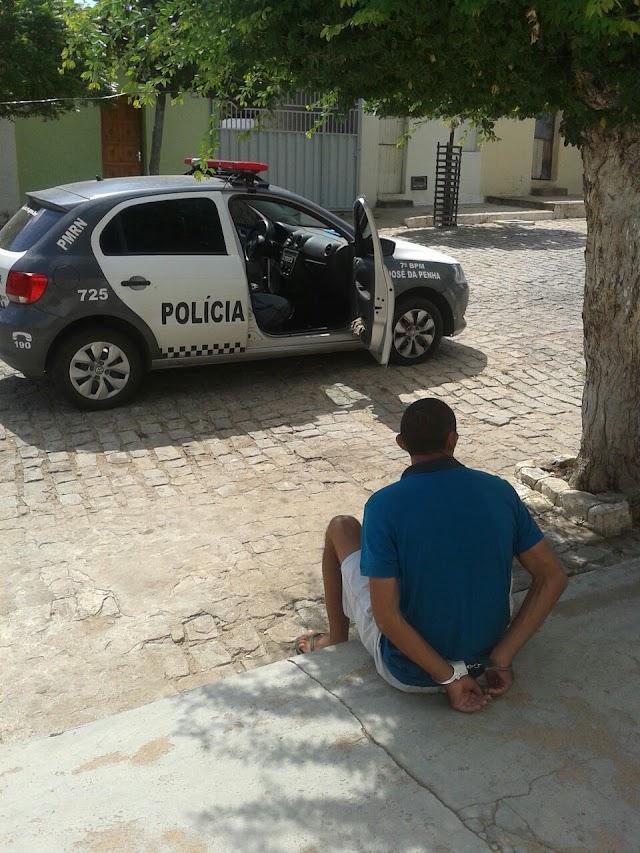 Homem é preso por descumprir medidas protetivas, em José da Penha