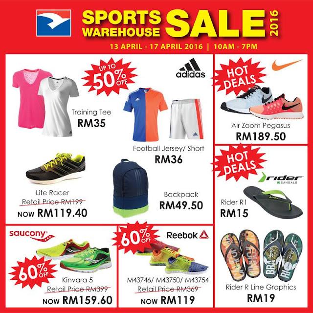 RSH Sports Warehouse Sale