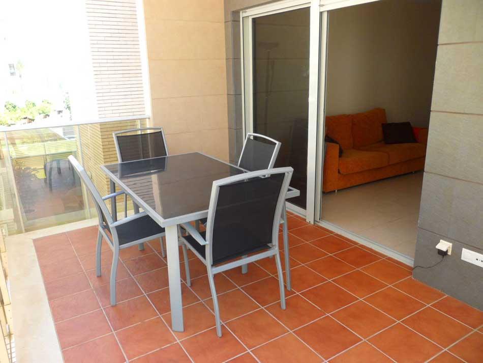 apartamento en venta calle apostol santiago benicasim terraza