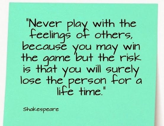 Quotes About Playing Games With People Quotes