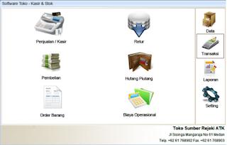 Software Toko dan Kasir Support Barcode. Fitur Lengkap