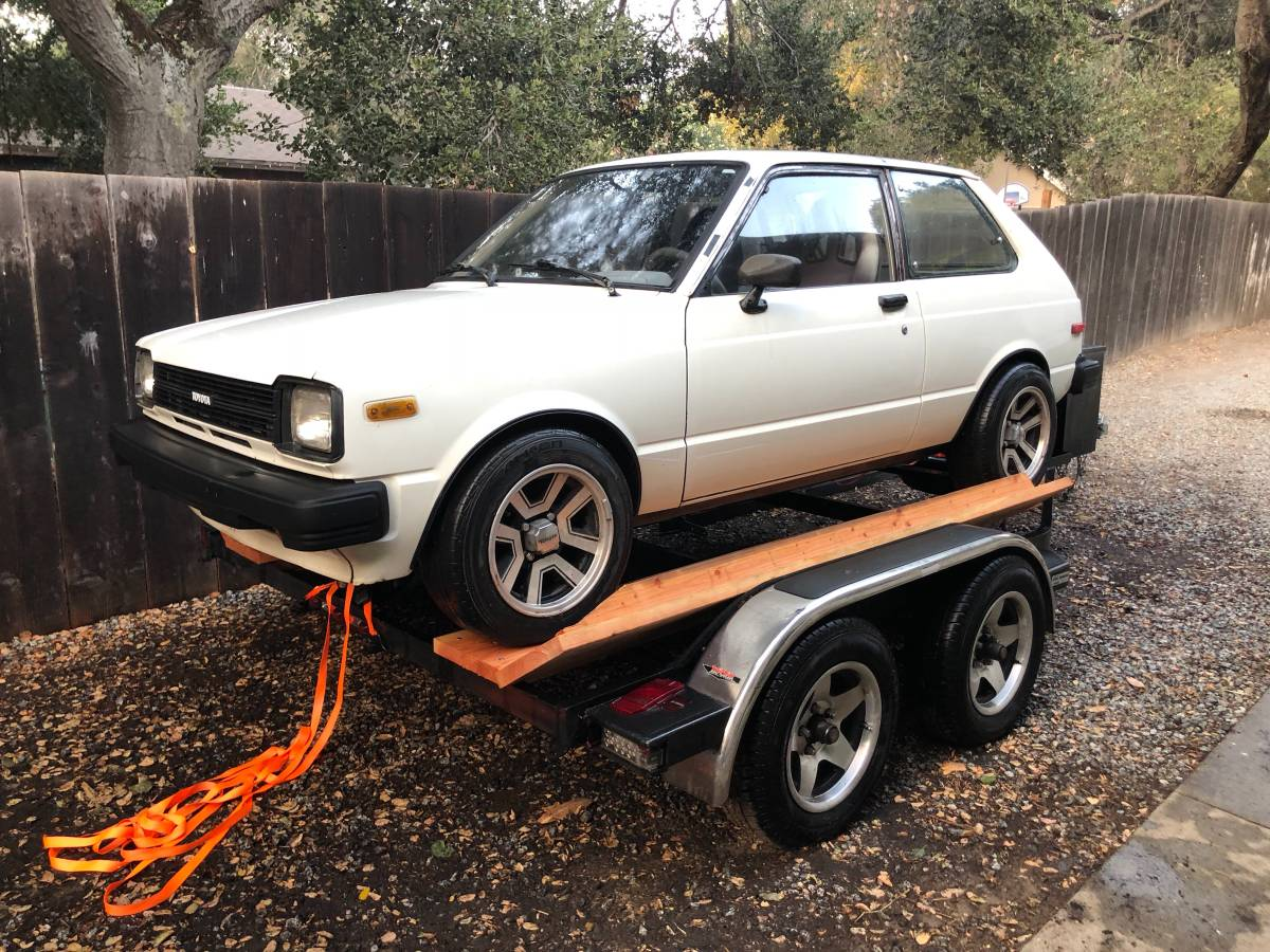 My Kind of Starlet: 1981 Toyota Starlet 4AGZE Power