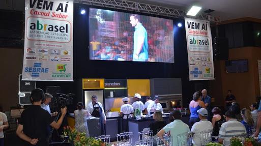 """""""Cozinha Show"""" da Abrasel será destaque na 5ª FICC em Cacoal"""