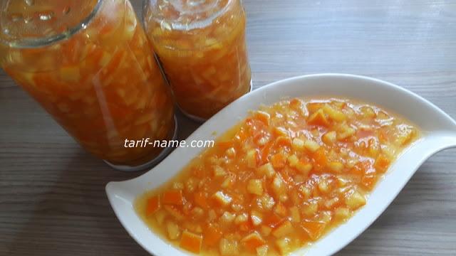 Mis kokulu portakal reçeli tarifi portakal reçeli nasıl hazırlanır ?