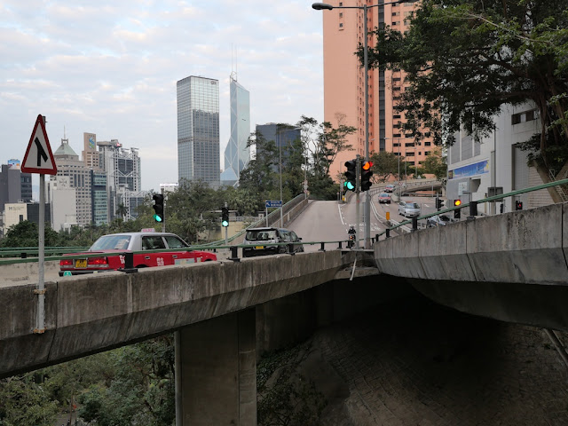 The Glenealy Flyover in Hong Kong