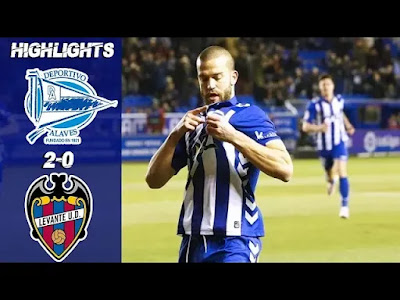 Alavés vs Levante 2-0 Football Highlights and Goals 2019
