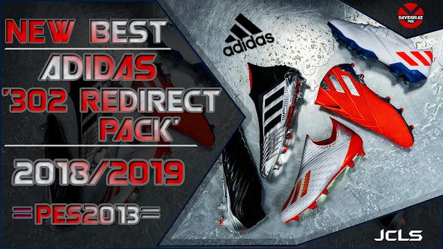 9d25b48d5 PES 2013 Adidas '302 Redirect' Boots-Pack 2019. CREDITS: DaViDBrAz