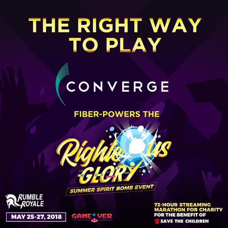 Converge Fiber Powers The Righteous Glory Event this May 25-27