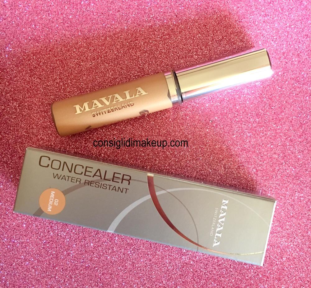 concealer water resistant mavala recensione