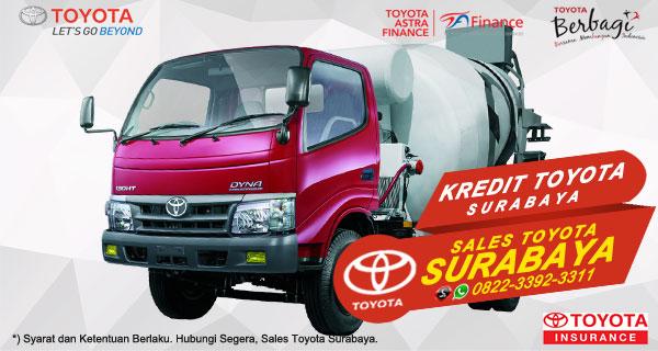 Promo DP Ringan, Paket Kredit Toyota Dyna Surabaya