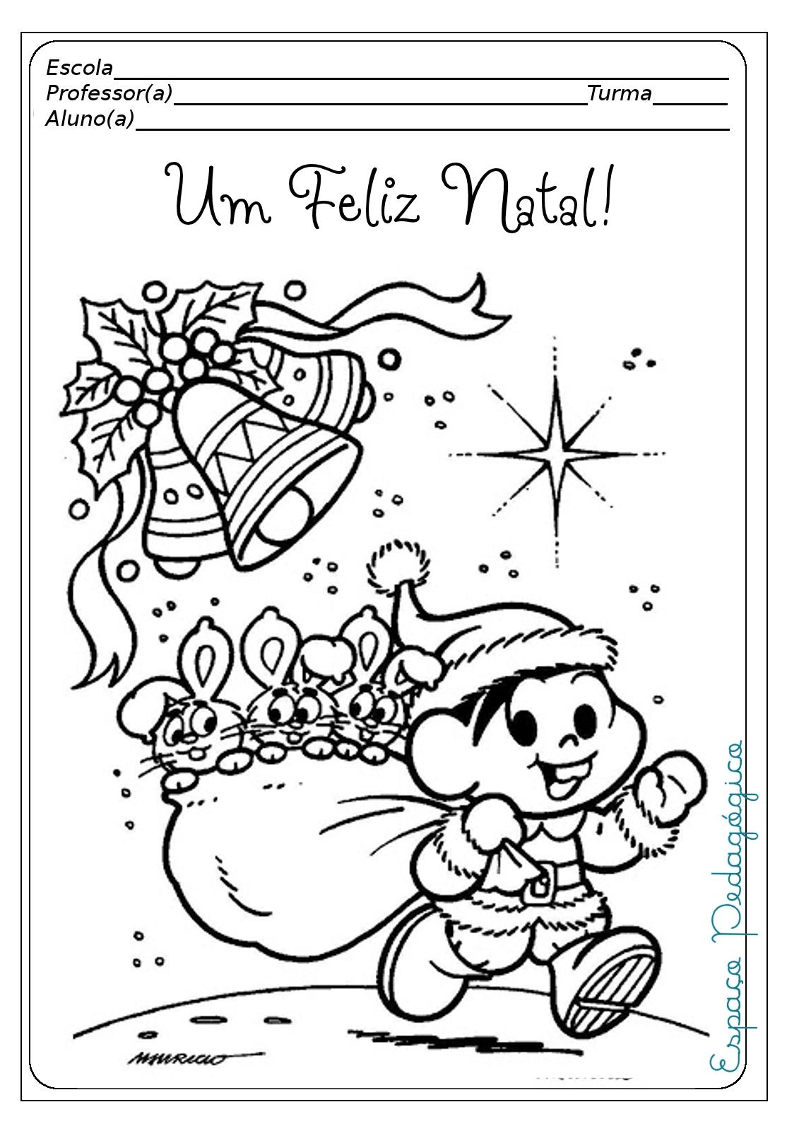 Jardim da Tia Di♥: Capas de provas prontas para o Natal