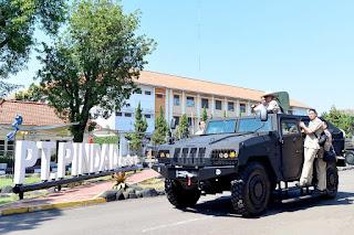 Menteri Pertahanan Kunjungi PT Pindad