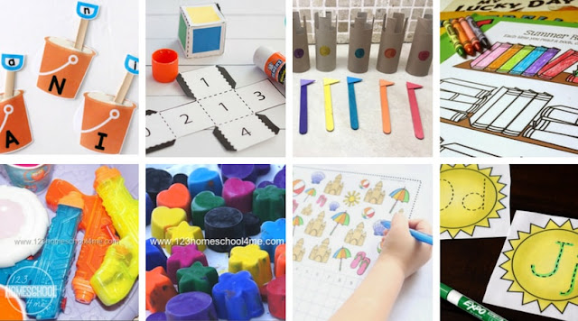 summer-school-fun-learning-ideas-preschool-kindergarten-first-grade-2nd-3rd-elementary