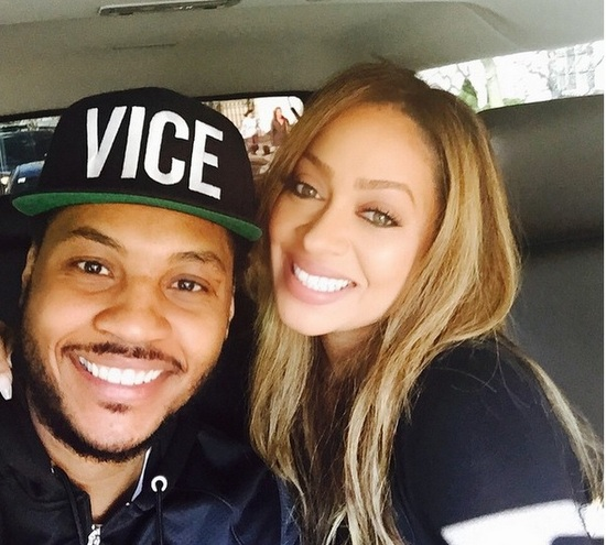 Lawd! Carmelo Anthony Allegedly Cheated on La La Anthony & Knocked Up a Stripper