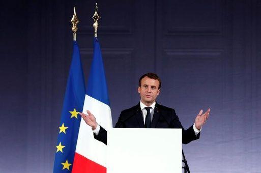 Macron pide más interés para frenar el calentamiento global