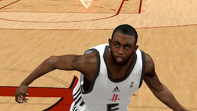 NBA 2K13 PC Cyberface Mods James Anderson