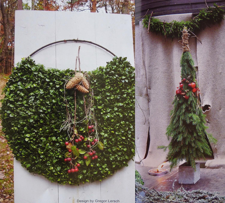 臺灣花藝:Christmas in Natural 戸外森林聖誕花圈設計 - 園藝部落格:iGarden 花寶愛花園園藝文摘Plus
