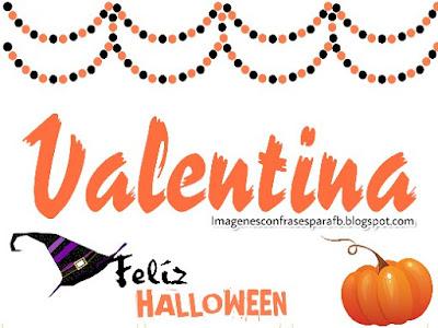 3 Imagenes de Halloween con Nombres de Mujer