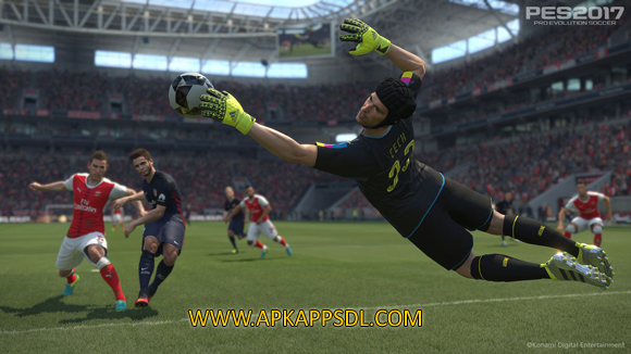 Download Pro Evolution Soccer 2017 Apk + Data Android Full Latest Version Free