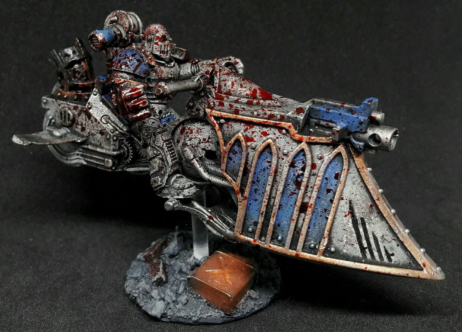 30kplus40k Bloody And Based Finished World Eaters Jet Bikes