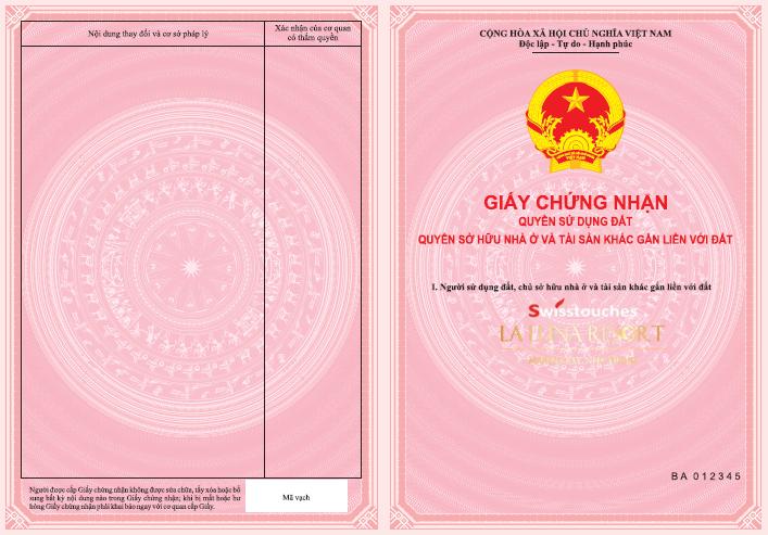 Sổ đỏ căn hộ La Luna Nha Trang