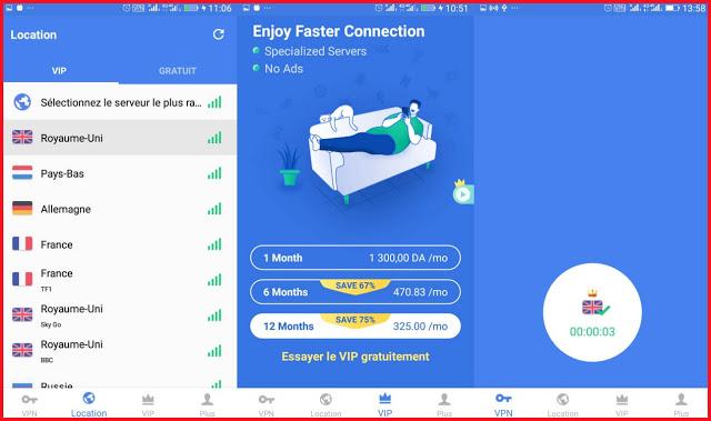 إلحق بسرعة واحصل على تطبيق snap vpn المذهل يمنح لك أنترنت رهيبة مجانا وسعره أكثر من 32 دولار