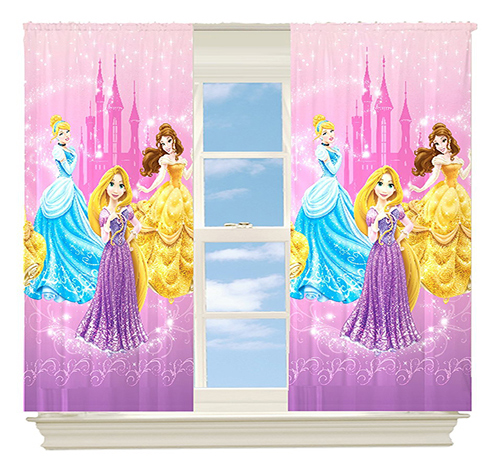 Disney Princesses Grand Beauty Room Darkening Panel