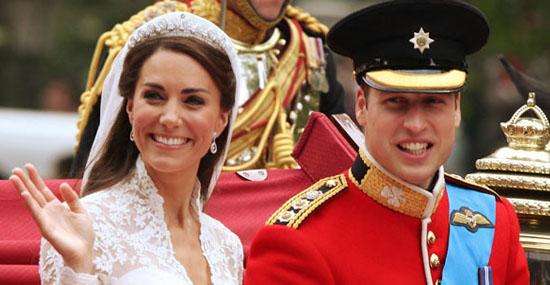 15 fãs que se casaram com seus ídolos - Prínicipe William e Kate Middleton