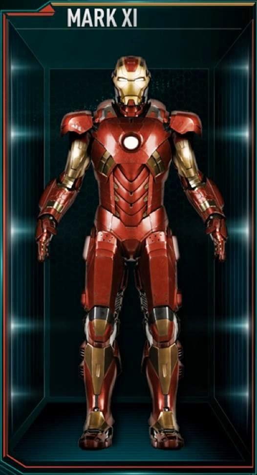 New Type List Armor Ironman Suit