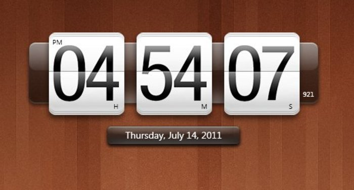 Horloge pour windows 10 - Horloge pour bureau windows 7 ...