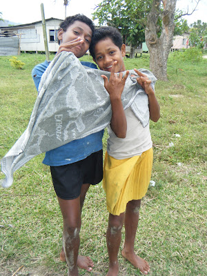 Fijian girls