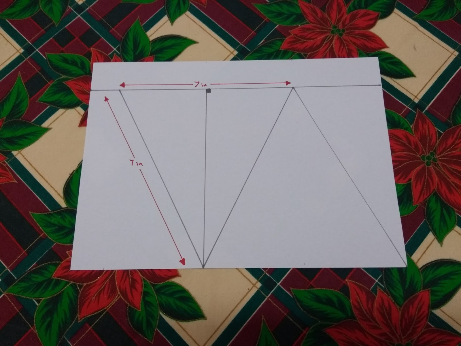 Stitch On The Line How To Make Christmas Bunting