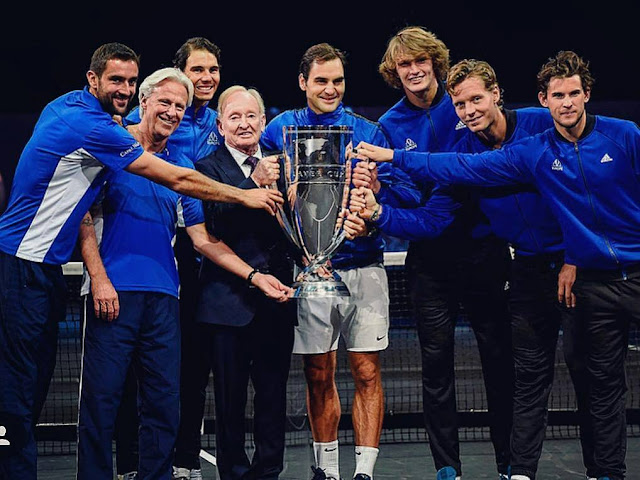 This is What Federer said about Laver Cup