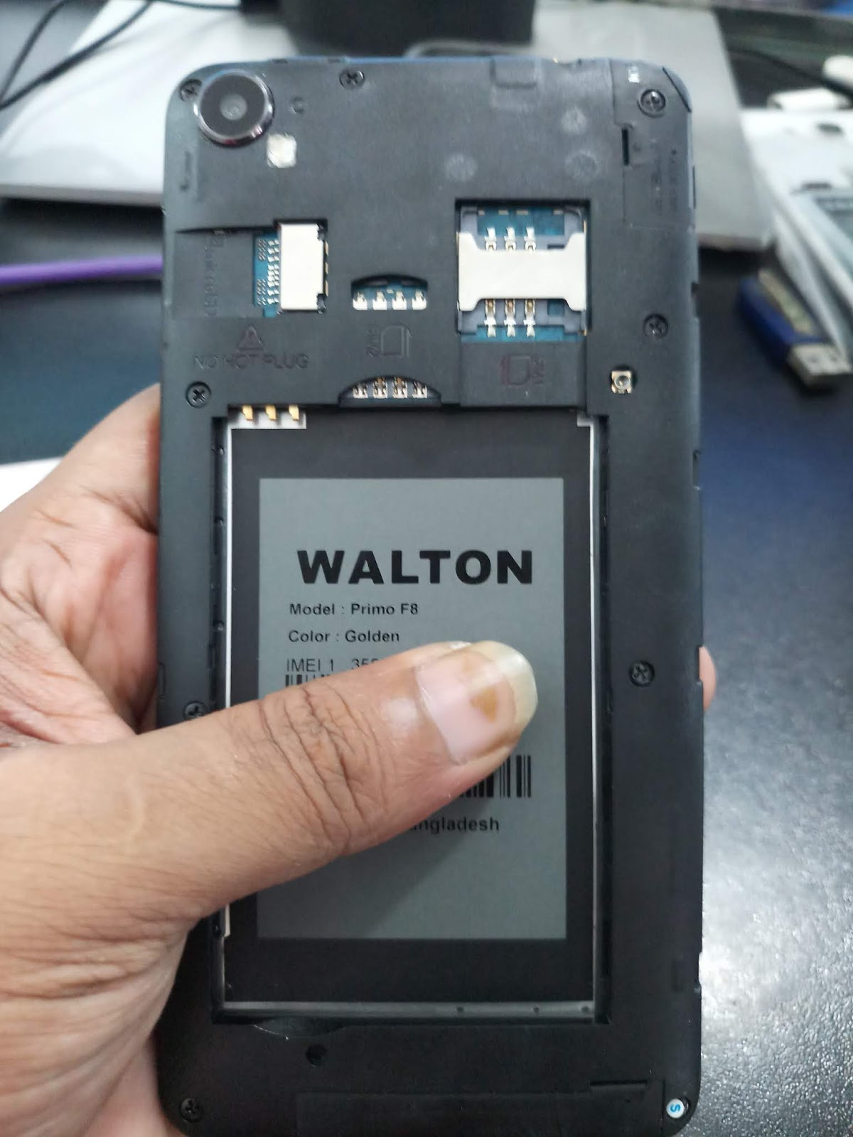 Walton Primo F8 Flash File Firmware MT6580 Android 70 Frp