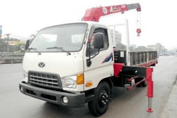 Xe tải cẩu 3 tấn hyundai HD99