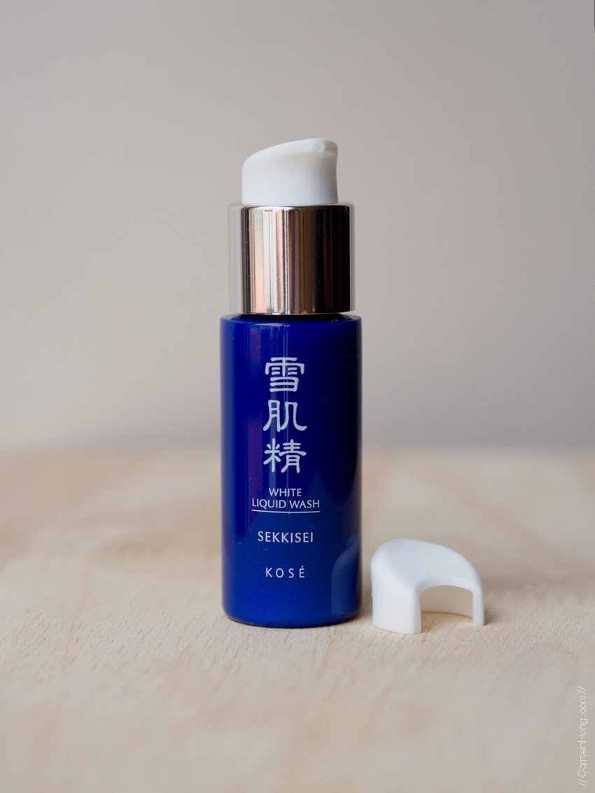 Review: SEKKISEI Basic Travel Set by KOSÉ | It's my life