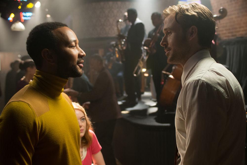 LA LA LAND -pelicula - Ryan Gosling y Jhon Legend