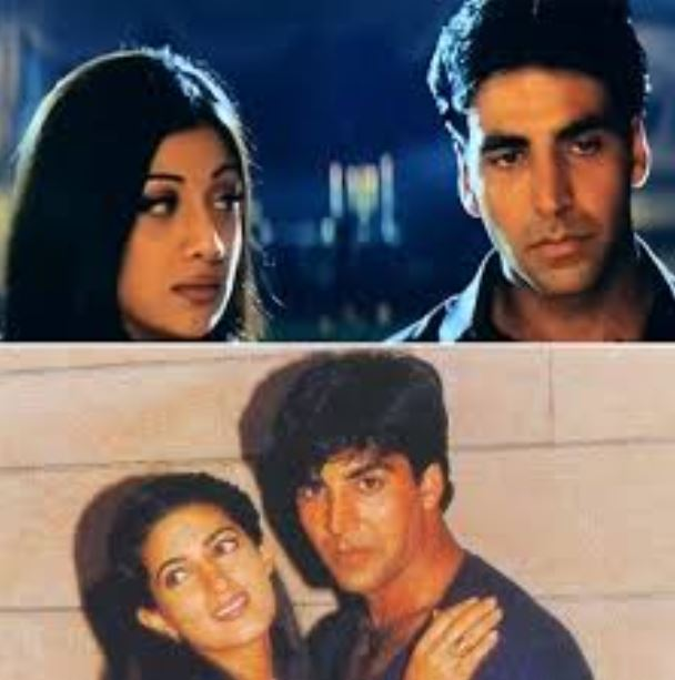 shilpa shetty-akshay kumar - back to bollywood