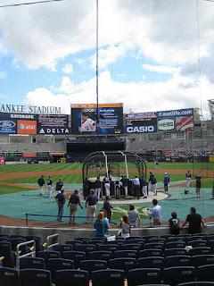 Home to center, New Yankee Stadium
